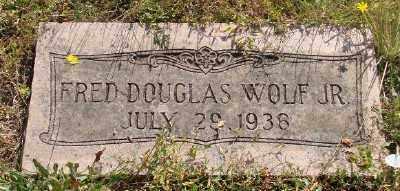 WOLF, FRED DOUGLAS - Marion County, Oregon | FRED DOUGLAS WOLF - Oregon Gravestone Photos