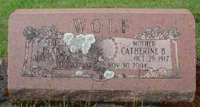 WOLF, CATHERINE B - Marion County, Oregon | CATHERINE B WOLF - Oregon Gravestone Photos