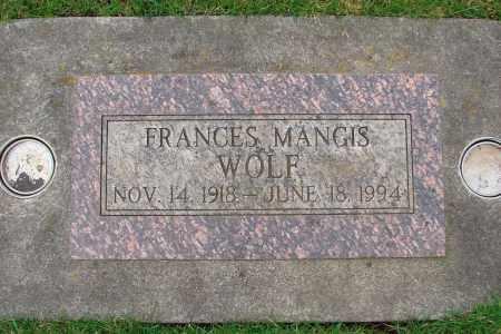 WOLF, FRANCES L - Marion County, Oregon | FRANCES L WOLF - Oregon Gravestone Photos