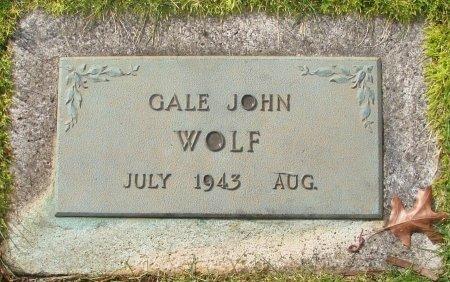 WOLF, GALE JOHN - Marion County, Oregon   GALE JOHN WOLF - Oregon Gravestone Photos