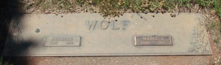 WOLF, HERBERT - Marion County, Oregon | HERBERT WOLF - Oregon Gravestone Photos