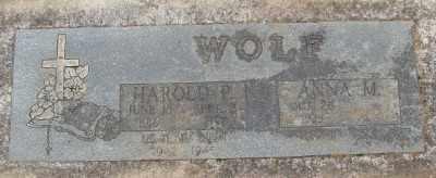 WOLF, HAROLD PETER - Marion County, Oregon   HAROLD PETER WOLF - Oregon Gravestone Photos