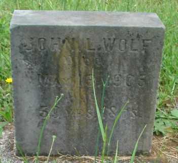 WOLF, JOHN L - Marion County, Oregon   JOHN L WOLF - Oregon Gravestone Photos
