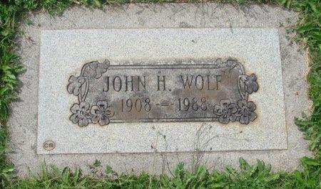 WOLF, JOHN HIRAM - Marion County, Oregon   JOHN HIRAM WOLF - Oregon Gravestone Photos
