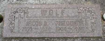 WOLF, PHILOMENA - Marion County, Oregon   PHILOMENA WOLF - Oregon Gravestone Photos