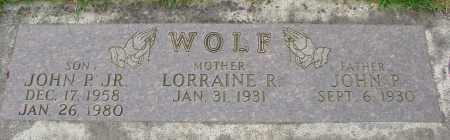 WOLF, LORRAINE R - Marion County, Oregon | LORRAINE R WOLF - Oregon Gravestone Photos