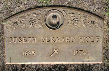 WOLF, JOSEPH BERNARD - Marion County, Oregon | JOSEPH BERNARD WOLF - Oregon Gravestone Photos