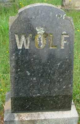 WOLF, - MONUMENT - Marion County, Oregon | - MONUMENT WOLF - Oregon Gravestone Photos