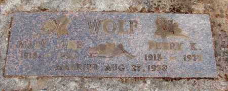 WOLF, PERRY K - Marion County, Oregon | PERRY K WOLF - Oregon Gravestone Photos