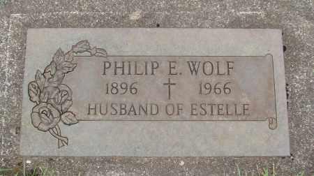 WOLF, PHILIP E SR - Marion County, Oregon | PHILIP E SR WOLF - Oregon Gravestone Photos