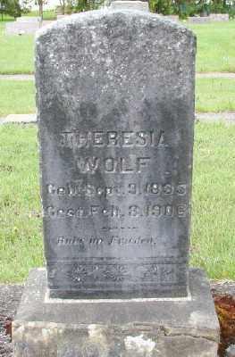 WOLF, THERESIA - Marion County, Oregon | THERESIA WOLF - Oregon Gravestone Photos