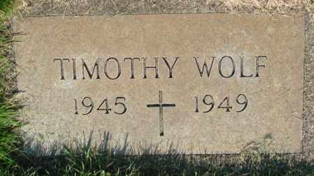WOLF, TIMOTHY - Marion County, Oregon | TIMOTHY WOLF - Oregon Gravestone Photos