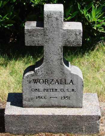 WORZALLA, PETER - Marion County, Oregon   PETER WORZALLA - Oregon Gravestone Photos
