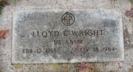 WRIGHT (SERV), LLOYD E - Marion County, Oregon | LLOYD E WRIGHT (SERV) - Oregon Gravestone Photos