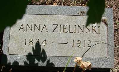 ZIELINSKI, ANNA - Marion County, Oregon   ANNA ZIELINSKI - Oregon Gravestone Photos