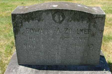 ZOLLNER, EDWARD A - Marion County, Oregon | EDWARD A ZOLLNER - Oregon Gravestone Photos