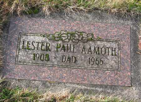 AAMOTH, LESTER PAUL - Multnomah County, Oregon | LESTER PAUL AAMOTH - Oregon Gravestone Photos