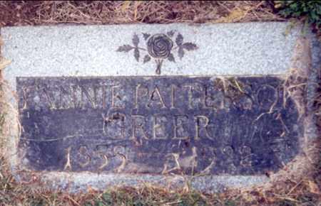 PATTERSON GREER, FANNIE AMELIA - Multnomah County, Oregon | FANNIE AMELIA PATTERSON GREER - Oregon Gravestone Photos