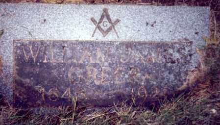 GREER, WILLIAM JAMES - Multnomah County, Oregon | WILLIAM JAMES GREER - Oregon Gravestone Photos