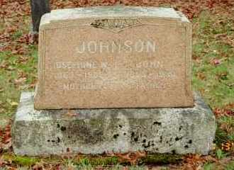 JOHNSON, JOSEPHINE W. - Multnomah County, Oregon | JOSEPHINE W. JOHNSON - Oregon Gravestone Photos