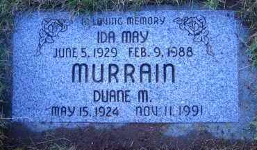 MURRAIN, DUANE M. - Multnomah County, Oregon | DUANE M. MURRAIN - Oregon Gravestone Photos