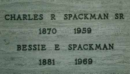SPACKMAN, CHARLES RAY, SR. - Multnomah County, Oregon | CHARLES RAY, SR. SPACKMAN - Oregon Gravestone Photos