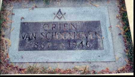 VAN SCHOONHOVEN, ORIEN - Multnomah County, Oregon   ORIEN VAN SCHOONHOVEN - Oregon Gravestone Photos