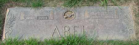ABEL, CHRISTINE - Polk County, Oregon | CHRISTINE ABEL - Oregon Gravestone Photos