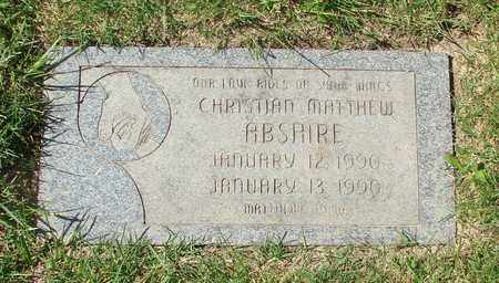 ABSHIRE, CHRISTIAN MATTHEW - Polk County, Oregon | CHRISTIAN MATTHEW ABSHIRE - Oregon Gravestone Photos