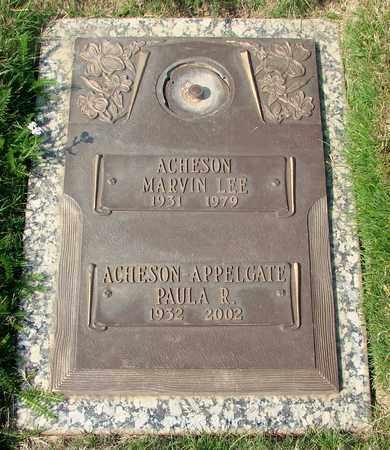 ACHESON (KOR), MARVIN LEE - Polk County, Oregon | MARVIN LEE ACHESON (KOR) - Oregon Gravestone Photos