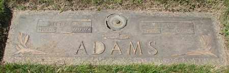 ADAMS, ELMER W - Polk County, Oregon   ELMER W ADAMS - Oregon Gravestone Photos