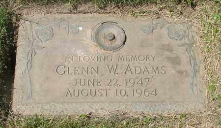 ADAMS, GLENN W - Polk County, Oregon | GLENN W ADAMS - Oregon Gravestone Photos