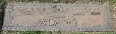ADAMS, MARGARET F - Polk County, Oregon | MARGARET F ADAMS - Oregon Gravestone Photos
