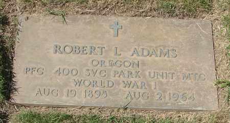 ADAMS, ROBERT L - Polk County, Oregon | ROBERT L ADAMS - Oregon Gravestone Photos