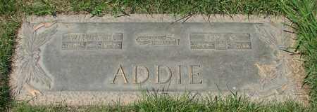 ADDIE, WILLIAM H - Polk County, Oregon | WILLIAM H ADDIE - Oregon Gravestone Photos