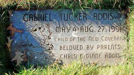 ADDIS, GABRIEL TUCKER - Polk County, Oregon | GABRIEL TUCKER ADDIS - Oregon Gravestone Photos