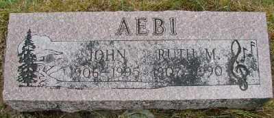 AEBI, JOHN - Polk County, Oregon | JOHN AEBI - Oregon Gravestone Photos