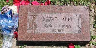 AEBI, STEVE - Polk County, Oregon | STEVE AEBI - Oregon Gravestone Photos