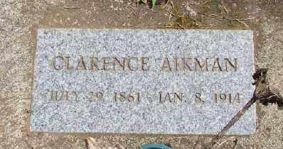 AIKMAN, CLARENCE - Polk County, Oregon | CLARENCE AIKMAN - Oregon Gravestone Photos