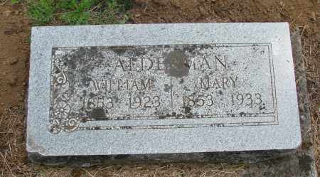 ALDERMAN, WILLIAM MARVIN - Polk County, Oregon   WILLIAM MARVIN ALDERMAN - Oregon Gravestone Photos