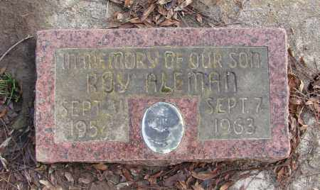 ALEMAN, ROY - Polk County, Oregon | ROY ALEMAN - Oregon Gravestone Photos