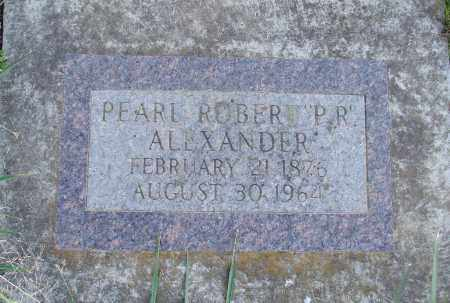 ALEXANDER, PEARL ROBERT - Polk County, Oregon | PEARL ROBERT ALEXANDER - Oregon Gravestone Photos