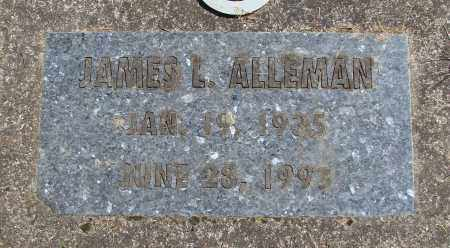 ALLEMAN, JAMES L - Polk County, Oregon | JAMES L ALLEMAN - Oregon Gravestone Photos
