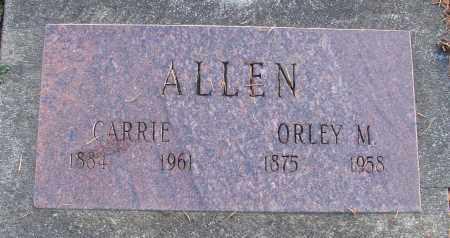 ALLEN, ORLEY M - Polk County, Oregon | ORLEY M ALLEN - Oregon Gravestone Photos