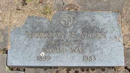 ALLEN (WWI), NORMAN H - Polk County, Oregon | NORMAN H ALLEN (WWI) - Oregon Gravestone Photos