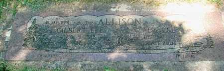 ALLISON, GILBERT LEE - Polk County, Oregon   GILBERT LEE ALLISON - Oregon Gravestone Photos