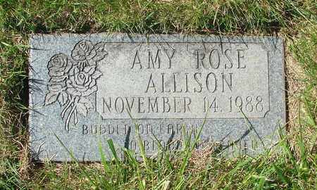 ALLISON, AMY ROSE - Polk County, Oregon | AMY ROSE ALLISON - Oregon Gravestone Photos