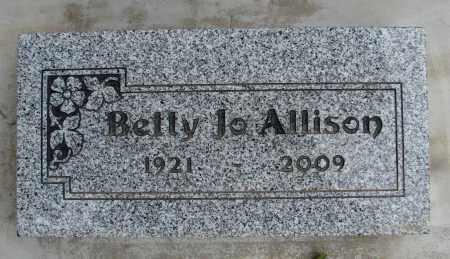ALLISON, BETTY - Polk County, Oregon | BETTY ALLISON - Oregon Gravestone Photos