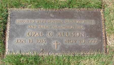 ALLISON, OPAL O - Polk County, Oregon | OPAL O ALLISON - Oregon Gravestone Photos