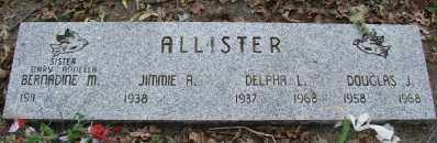 ALLISTER, DELPHA L - Polk County, Oregon | DELPHA L ALLISTER - Oregon Gravestone Photos